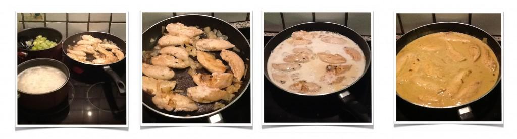 Poulet au curry trop fastoche