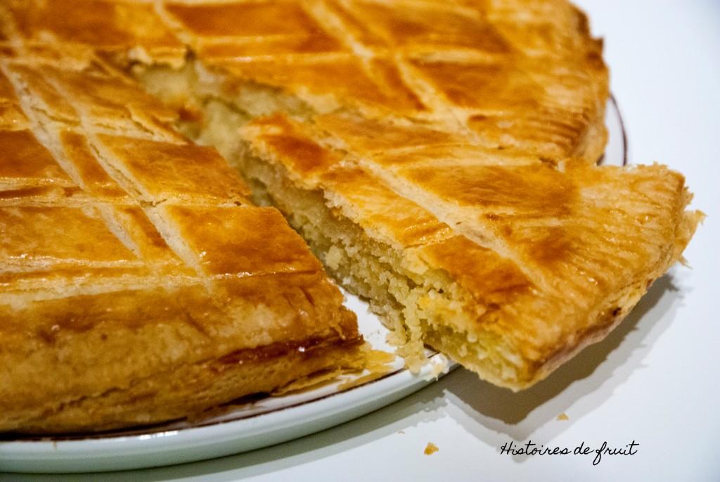 Pithiviers : Galette à la crème d'amande (et pâte feuilletée minute)