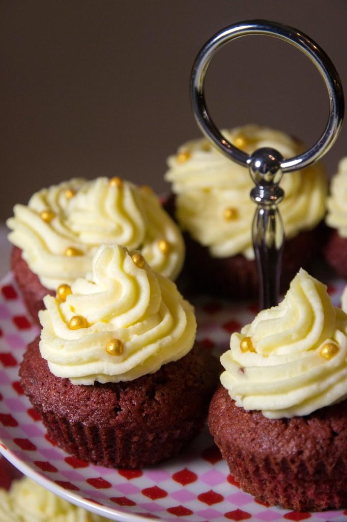 Red velvet cupcakes [A l'américaine !]