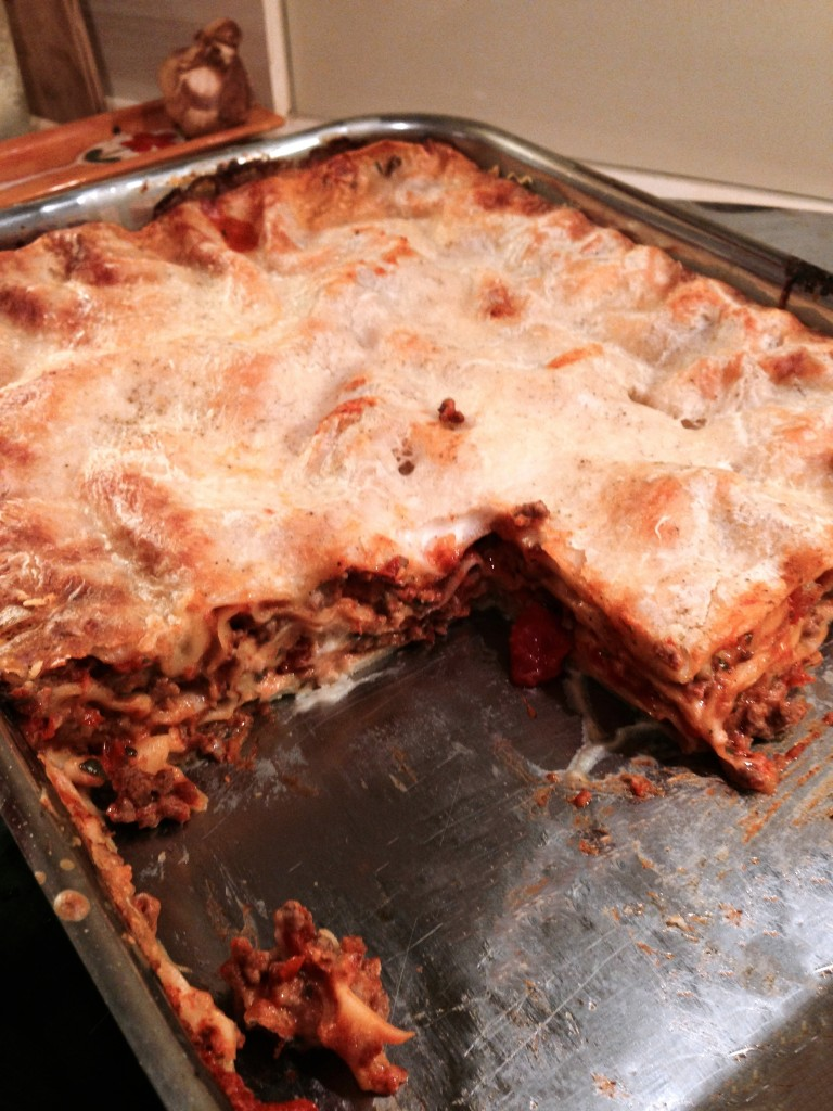 THE lasagnes de la mort qui tue