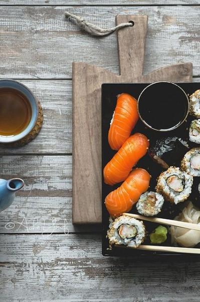 La cuisine du p'tit lu #06 : les sushis (et compagnie) ne mordent pas
