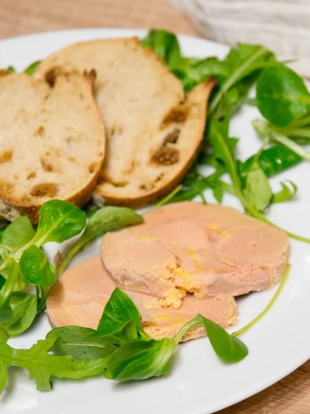 Foie gras au torchon (au porto) fait maison