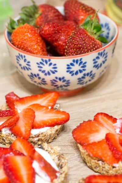 Tartelettes aux fraises légères sans cuisson
