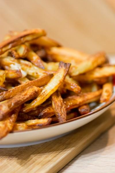 Frites au four sans huile ou presque histoires de fruit - Cuiseur frites sans huile ...