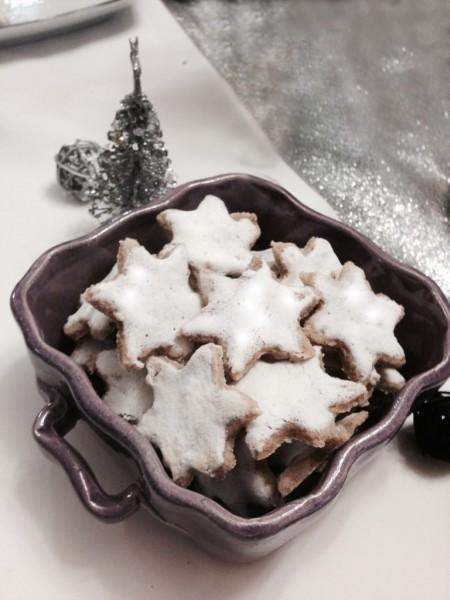 Etoiles de Noël à la canelle ou Zimtsterne [Bredele]