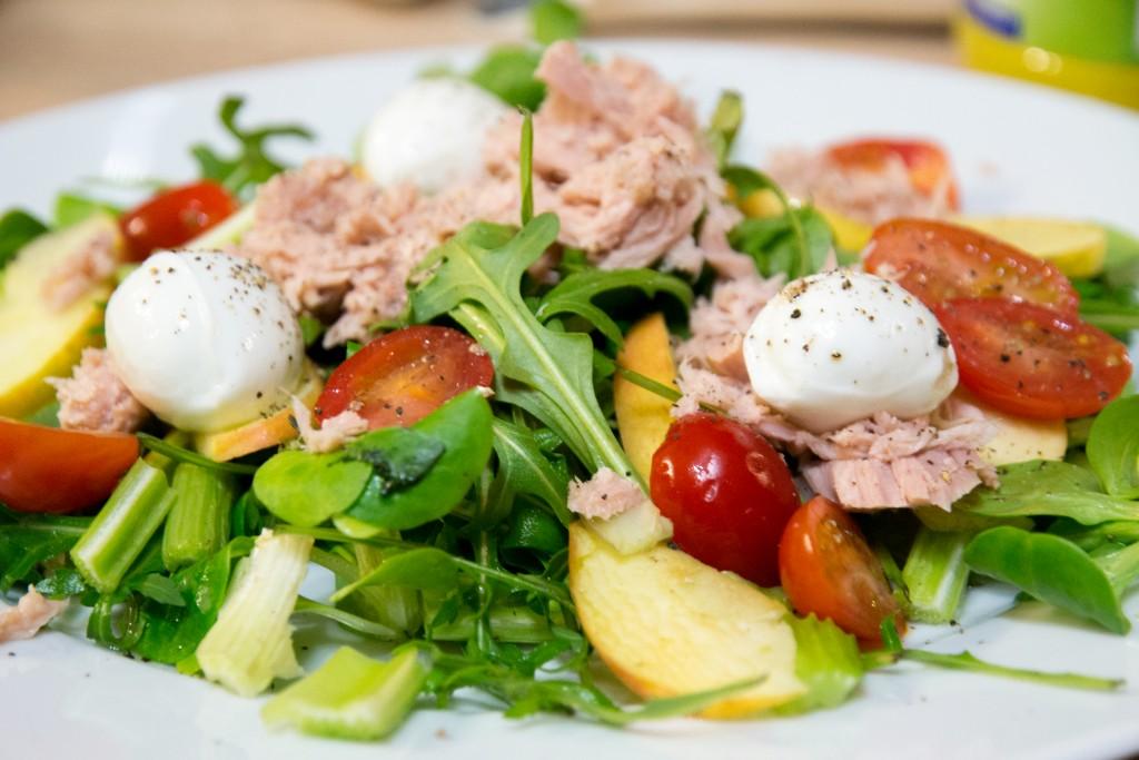 Salade fraicheur en 10 minutes chrono, spéciale WW (4PP)